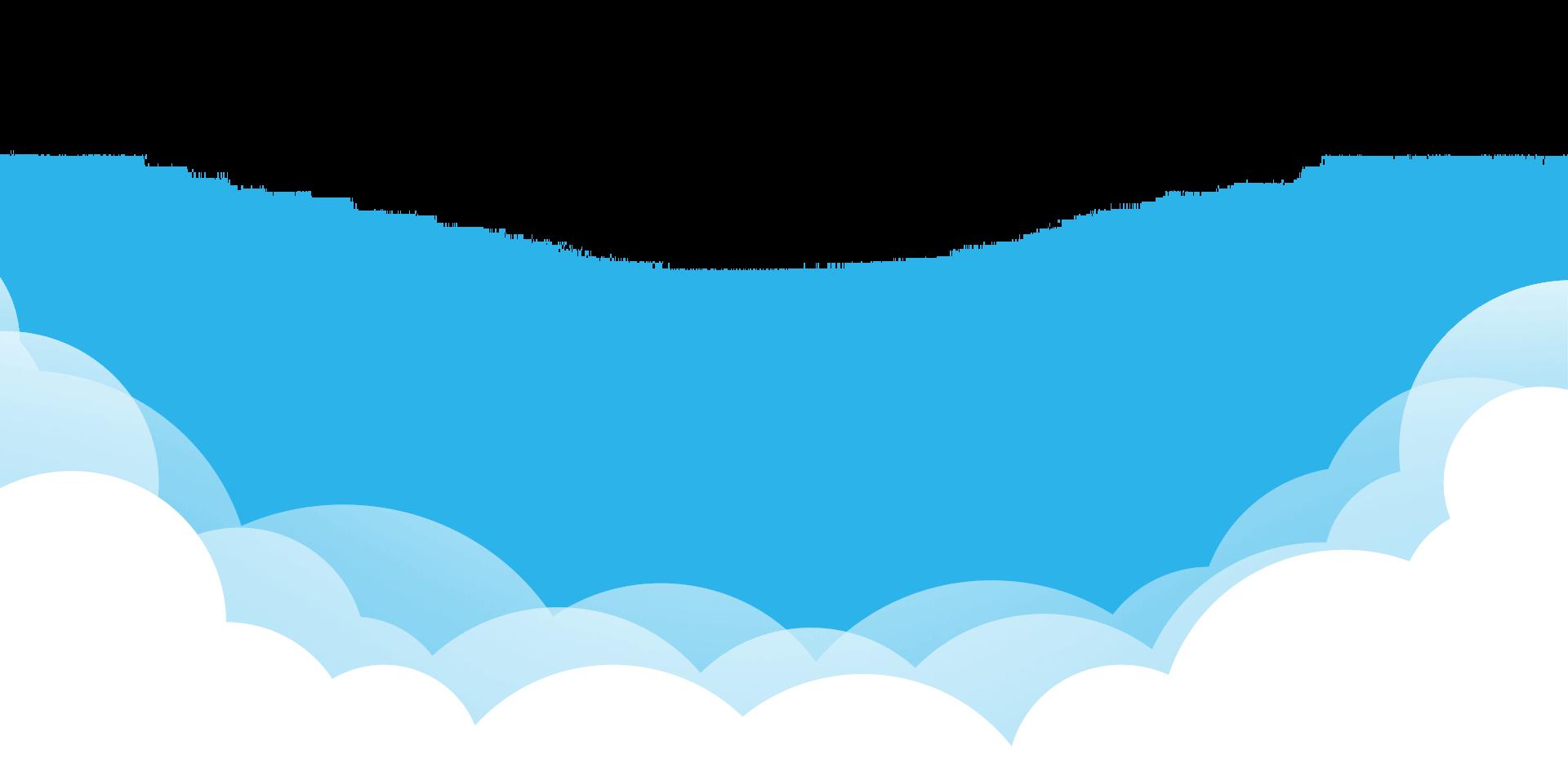 Dekorativa moln